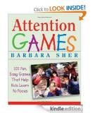 Sách: Attention Games: 101 Fun, Easy Games That Help Kids Learn To Focus