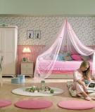 Những gam màu tuyệt đẹp cho phòng ngủ bé gái