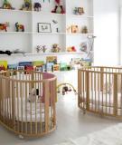 Thiết kế phòng bé song sinh