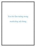 Xóa bỏ lầm tưởng trong marketing nội dung