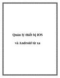 Quản lý thiết bị iOS và Android từ xa