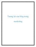 Tương lai của blog trong marketing