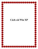 Cách cài Win XP