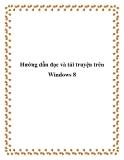 Hướng dẫn đọc và tải truyện trên Windows 8