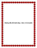 Hướng dẫn đổi đuôi nhạc, video với Jetaudio