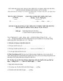 MẪU ĐƠN ĐỀ NGHỊ CHẤP THUẬN VIỆC NIÊM YẾT CỔ PHIẾU TRÊN THỊ TRƯỜNG CHỨNG KHOÁN TRONG NƯỚC (HOẶC NƯỚC NGOÀI)