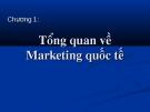 Tổng quan  kiến thức về  Marketing quốc tế