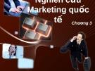 Nghiên cứu marketing quốc tế