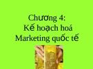 Kế hoạch hoá Marketing quốc tế