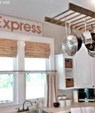 Phòng khách gọn gàng với phong cách tối giản
