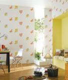 Những mẫu giấy dán tường đẹp cho phòng của bé