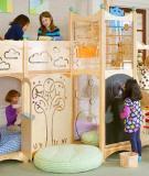 Thế giới vui chơi thu nhỏ trong phòng trẻ