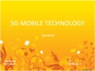 5G MOBILE TECHNOLOGY
