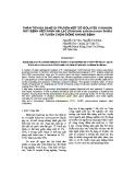 Phân tích đa dạng di truyền một số ISOLATES vi khuẩn gây bệnh héo xanh hại lạc (Ralstonia solanacearum Smith) và tuyển chọn giống kháng bệnh