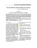 KẾT QUẢ NGHIÊN CỨU CHỌN LỌC GIỐNG LÚA TẺ THƠM HT6
