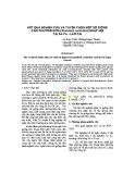 Kết quả nghiên cứu và tuyển chọn một số giống cẩm chướng đơn (Standard carnation) nhập nội tại Sa Pa - Lào Cai