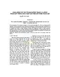 HÀM LƯỢNG CÁC YẾU TỐ DINH DƯỠNG TRUNG, VI LƯỢNG TRONG ĐẤT TRỒNG CHÈ VÀ BÚP CHÈ TRÊN ĐẤT PHIẾN THẠCH SÉT