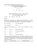 Mẫu số 3: Biên bản họp Hội đồng thi đua, khen thưởng cơ sở