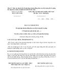 Mẫu số 7: Báo cáo thành tích đề nghị tặng thưởng Bằng khen của Bộ trưởng Bộ Tư pháp cho (tập thể, cá nhân có thành tích xuất sắc đột xuất)