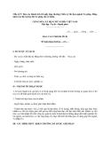 Mẫu số 5: Báo cáo thành tích đề nghị tặng thưởng Chiến sỹ thi đua ngành Tư pháp, Bằng khen của Bộ trưởng Bộ Tư pháp cho cá nhân