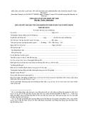 MẪU BÁO CÁO KẾT QUẢ HỌC TẬP CỦA NGHIÊN CỨU SINH ĐI ĐÀO TẠO Ở NƯỚC NGOÀI THEO ĐỀ ÁN 911