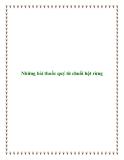 Những bài thuốc quý từ chuối hột rừng