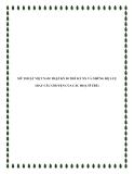 MỸ THUẬT VIỆT NAM THẬP KỶ 90 THẾ KỶ XX VÀ NHỮNG HỆ LUỴ (HAY CÂU CHUYỆN CỦA CÁC HOẠ SĨ TRẺ)