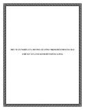 PHỦ TUẤN NGHĨA CỦA DƯƠNG LỄ CÔNG TRỊNH ĐỖ Ở HOÀNG MAI (THẾ KỶ XVI, XVII KINH ĐÔ THĂNG LONG)
