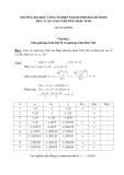 Chương 2 Giải phương trình Đại Số và phương trình Siêu Việt