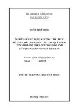 Luận văn:NGHIÊN CỨU SỬ DỤNG XÚC TÁC THẢI RFCC ĐỂ LÀM CHẤT MANG XÚC TÁC CHO QUÁ TRÌNH TỔNG HỢP CNT THEO PHƯƠNG PHÁP CVD SỬ DỤNG NGUỒN NGUYÊN LIỆU LPG