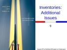 Intermediate Accounting - Chap009