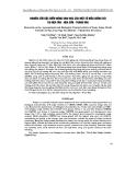 Nghiên cứu đặc điểm nông sinh học của một số mẫu giống cói tại Nga Tân - Nga Sơn - Thanh Hóa