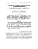 Kết quả đánh giá về sinh trưởng, phát triển và khả năng tạo bỏng của ngô nổ tại vùng Gia Lâm - Hà Nội