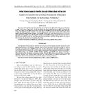 Phân tích đa dạng di truyền của đậu tương bằng chỉ thị SSR