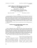 HOẠT TÍNH CHỐNG OXI HÓA VÀ ỨC CHẾ ENZYME POLYPHENOLOXIDASE CỦA MỘT SỐ LOẠI THỰC VẬT ĂN ĐƯỢC Ở VIỆT NAM