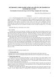 Xác định mức lysine và năng lượng (l/nl) đối với lợn con móng cái giai đoạn sau cai sữa