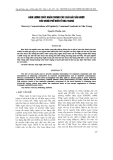 HÀM LƯỢNG THỦY NGÂN TRONG CÁC LOÀI HẢI SẢN ĐƯỢC TIÊU DÙNG PHỔ BIẾN Ở NHA TRANG