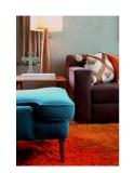 Trang trí nội thất quyến rũ và tuyệt vời với màu cam