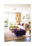 Trang trí nội thất phòng khách với màu sắc của mùa hè
