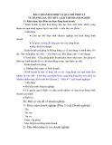 LUẬT DOANH NGHIỆP - BÀI 2 : DOANH NGHIỆP VÀ QUY CHẾ THÀNH LẬP, TỔ CHỨC, GIÁI THỂ DOANH NGHIỆP
