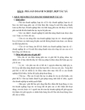 LUẬT DOANH NGHIỆP - BÀI 8 : PHÁ SẢN DOANH NGHIỆP, HỢP TÁC XÃ