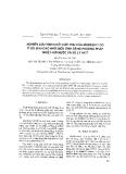 """Báo cáo """" Nghiên cứu tính chất hấp phụ của mordenit có tỉ số Si/Al cao nhờ biến tính bằng phương pháp nhiệt – hơi nước và xử lý axit """""""