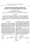 """Báo cáo """" Khảo sát phản ứng C-Axetil hoá một số aril metil ete trong điều kiện hoá học xanh """""""