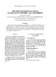 """Báo cáo """" Một số kết quả nghiên cứu chế tạo vật liệu cao su thiên nhiên – clay nanocompozit"""""""