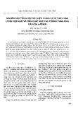 """Báo cáo """" Nghiên cứu tổng hợp vật liệu Ti-SBA-15 thủy tinh lỏng Việt Nam và tính chất xúc tác trong phản ứng oxi hóa α-pinen """""""
