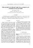 """Báo cáo """" Tổng hợp một số dẫn xuất amit của 3α-hydroxy-LUP-20(29)-EN-23,28-dioic axit chiết tách từ cây chân chim """""""