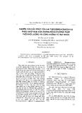 """Báo cáo """" Nghiên cứu cấu trúc của hai thiosemicacbazon và phức chất Ni(II) của chúng bằng phương pháp phổ khối lượng và cộng hưởng từ hạt nhân """""""