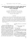 """Báo cáo """" Vai trò trợ tương hợp của TH1 có khối lượng phân tử phù hợp đối với một số hệ blend trên cơ sở cao su thiên nhiên"""""""