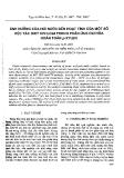 """Báo cáo """" Ảnh hưởng của hơi nước đến hoạt tính của một số xúc tác oxit kim loại trong phản ứng oxi hoá hoàn toàn p-xylen """""""