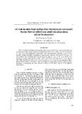 """Báo cáo """" Ức chế ăn mòn thép đường ống trong dung dịch nước trung tính và kiềm ở các nhiệt độ khác nhau bởi natri molipdat """""""